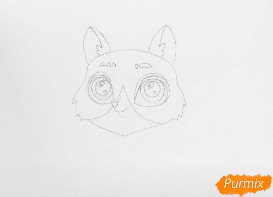 Рисуем собаку Бастера из мультфильма My Littlest Pet Shop - фото 3