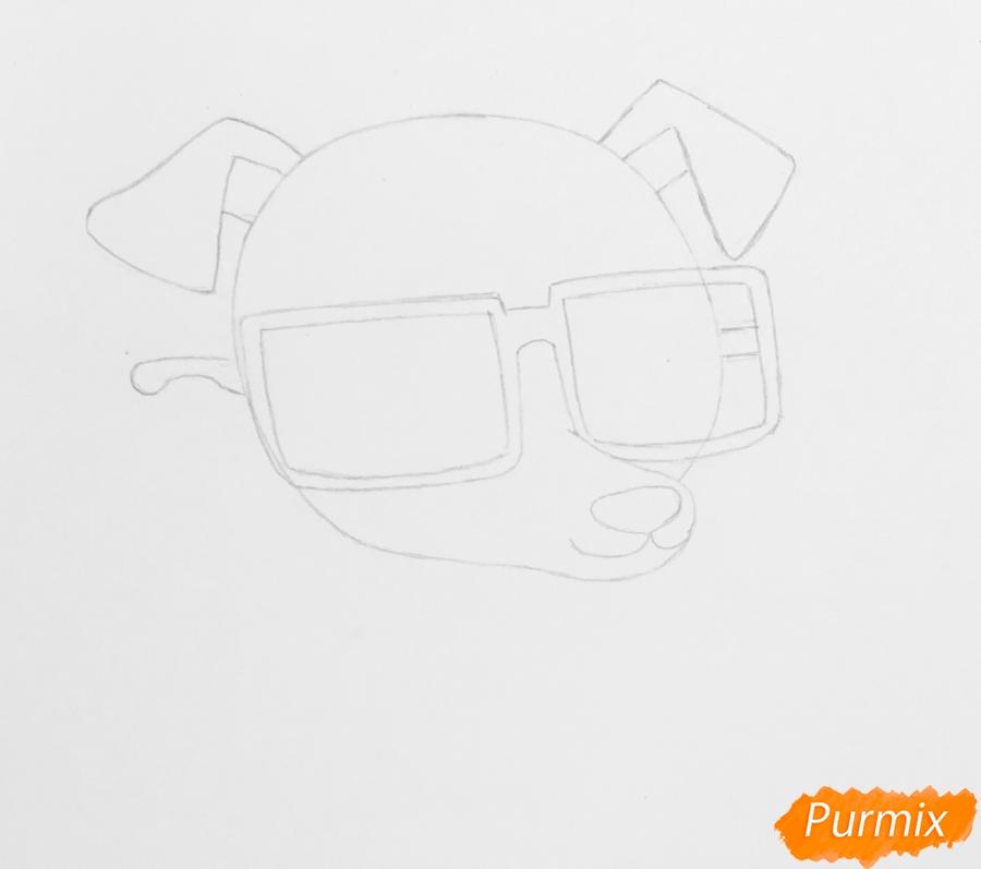 Рисуем собаку борзую из мультфильма My Littlest Pet Shop - фото 2