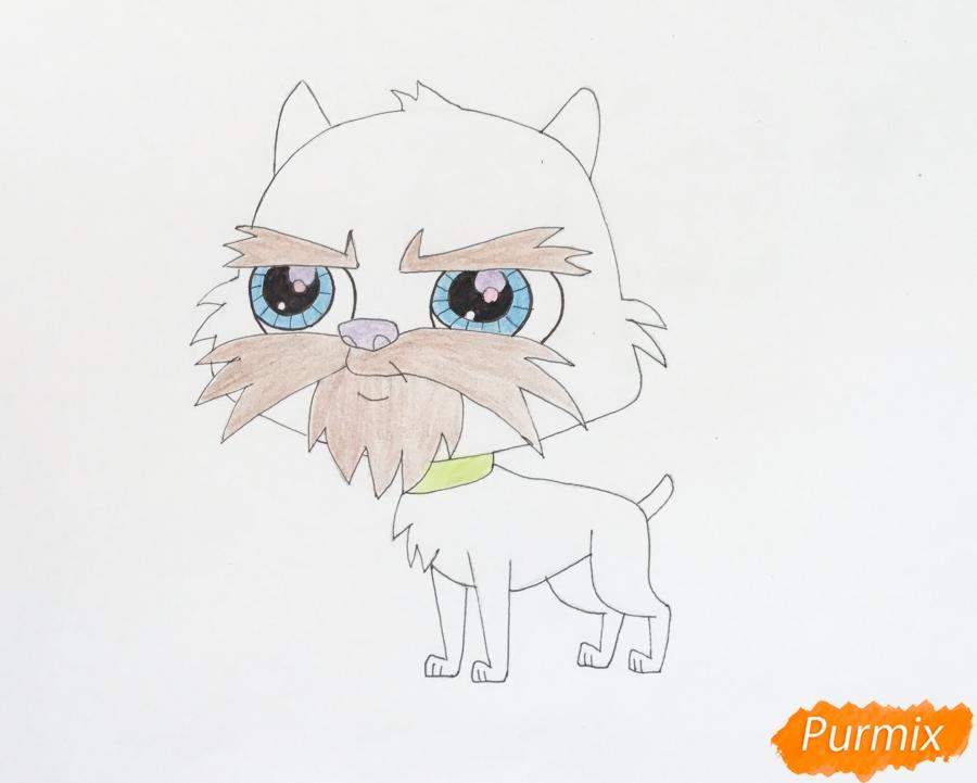 Рисуем собаку Сэма из мультфильма My Littlest Pet Shop - фото 6