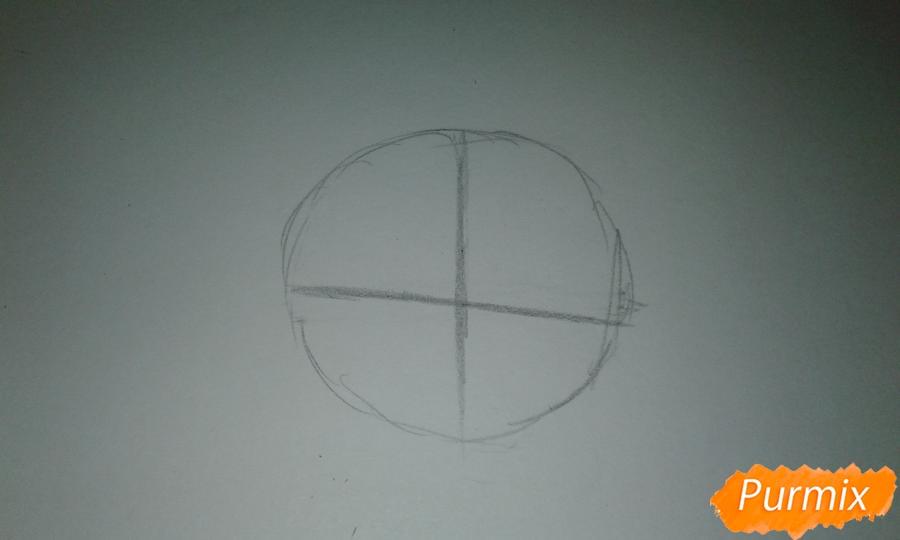 Рисуем Стар Баттерфляй во время Мьюзревания - шаг 1