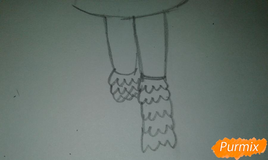 Рисуем Стар Баттерфляй во время Мьюзревания - шаг 12