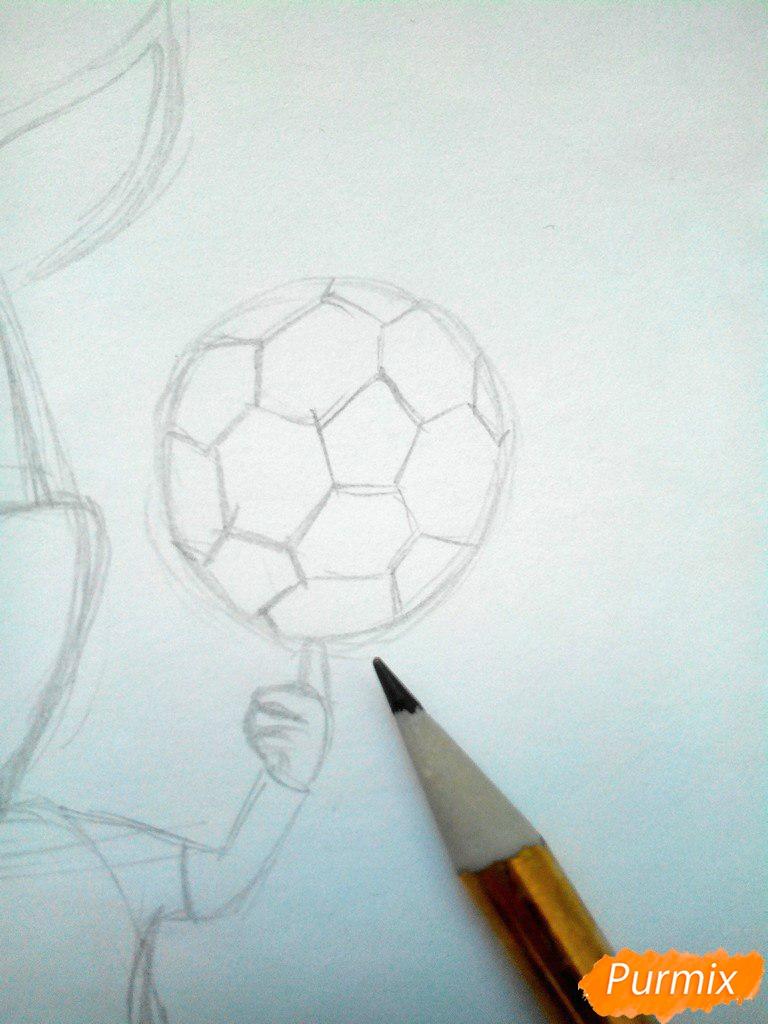 Рисуем Дружка из мультсереала Барбоскины цветными - шаг 4