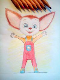 Рисунок Малыша Барбоскина
