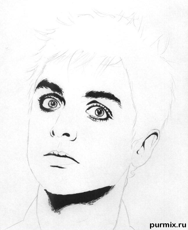 Рисуем портрет Билли Джо простым