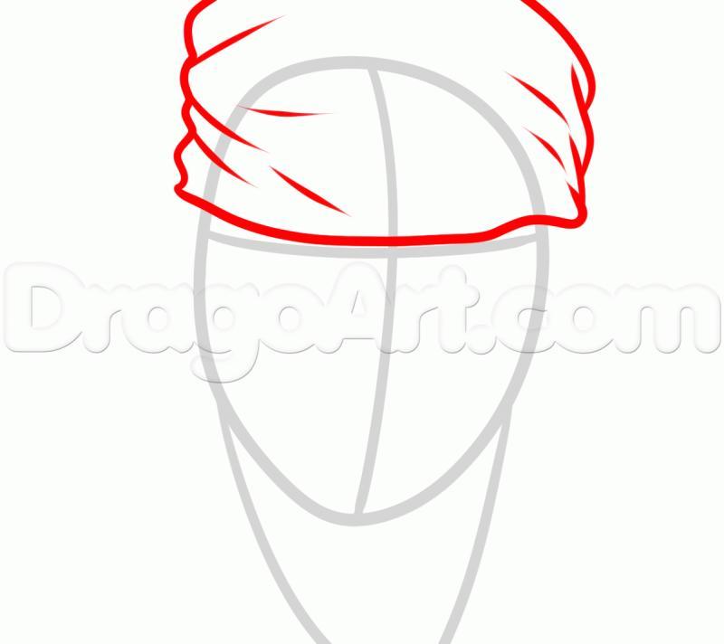 Как нарисовать портрет Джека Воробья карандашом поэтапн