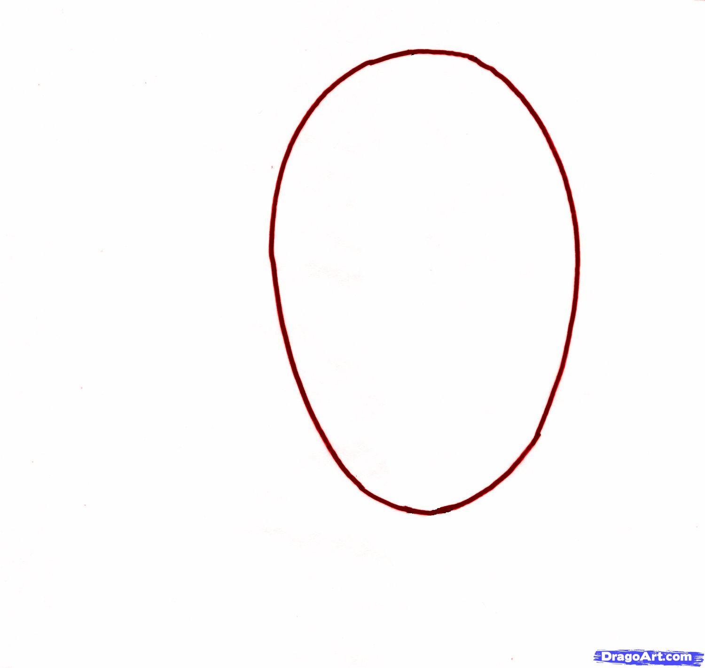 Как сделать овальный рисунок