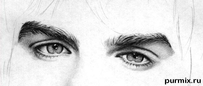 Рисуем портрет Йена Сомерхолдера