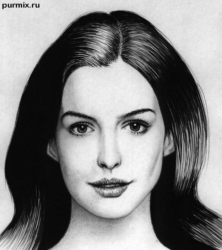 Рисуем портреты знаменитостей поэтапно
