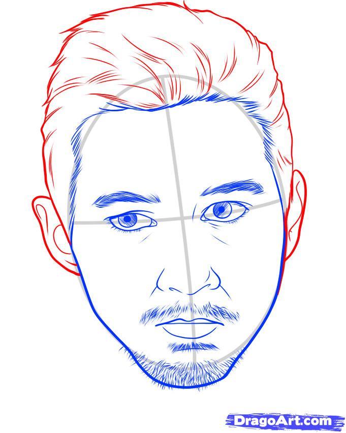 Рисуем портрет Лабаф Шайа