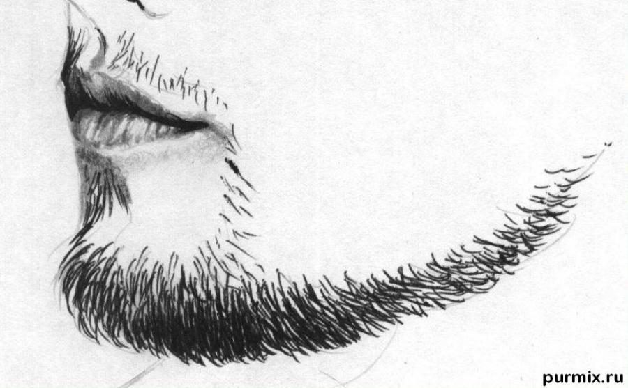 Рисуем портрет Леонардо ДиКаприо - шаг 4