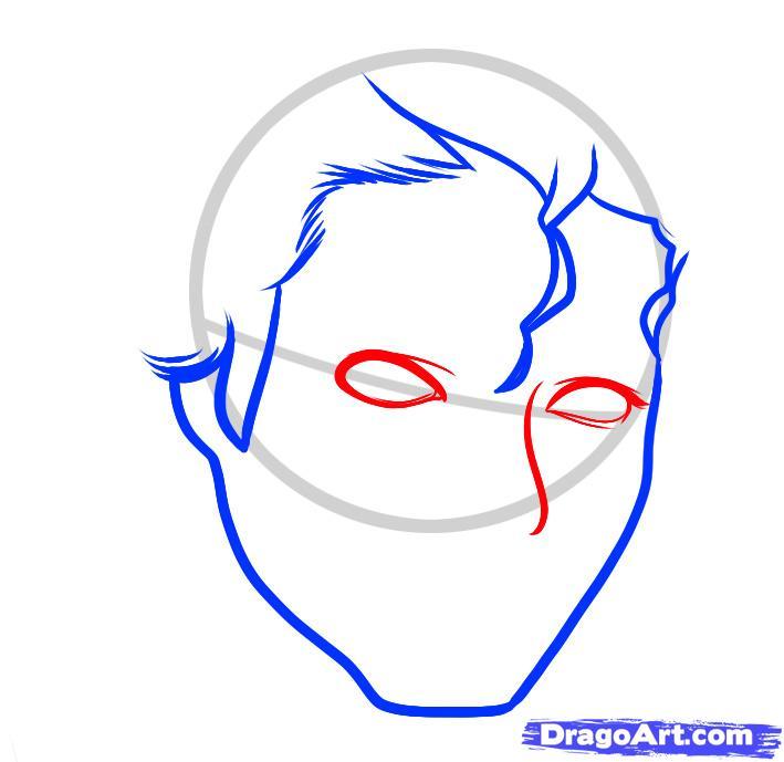 Рисуем портрет Майкла Джексона
