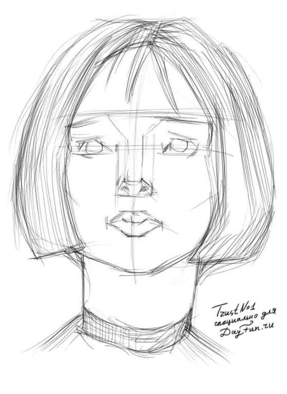 видеоурок обучение рисование портрета бесплатно