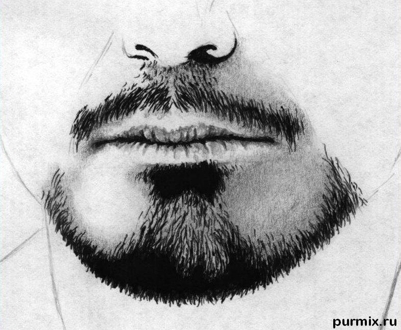 Как нарисовать портрет Роберта Дауни мл. простым карандашом поэтапно