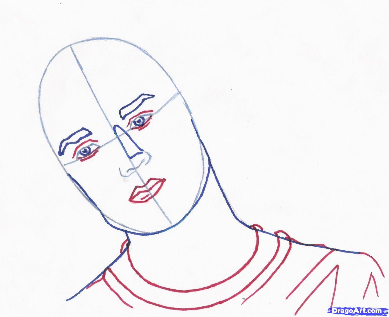 Рисуем портрет Роберта Паттинсона