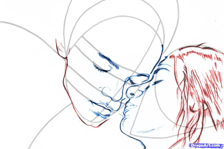 Рисуем портрет Ромео и Джульетты