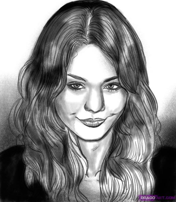 уроки рисования карандашом портрет поэтапно: