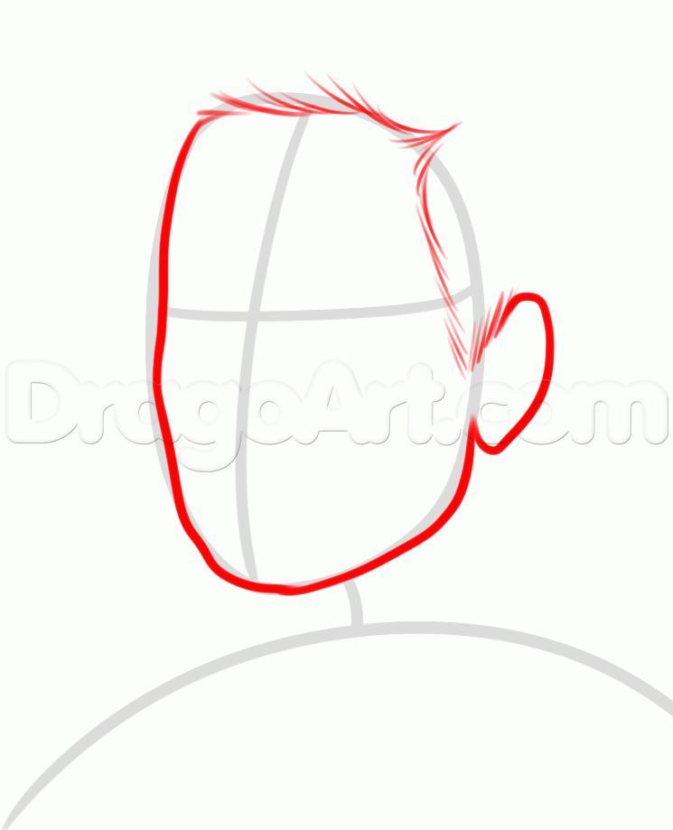 Как просто нарисовать портрет Пола Уокера