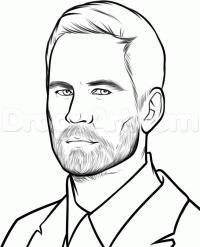 Как просто нарисовать портрет Пола Уокера карандашом