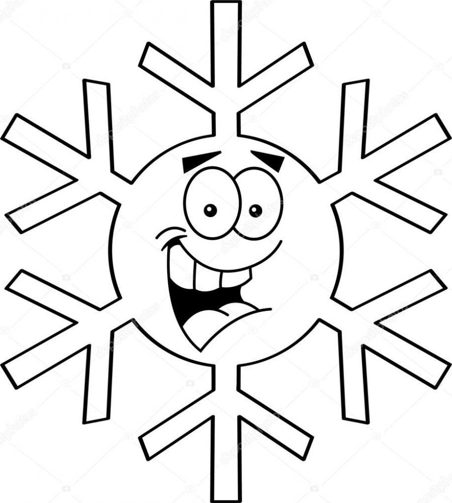 Рисунки снежинок для срисовки - фото 4