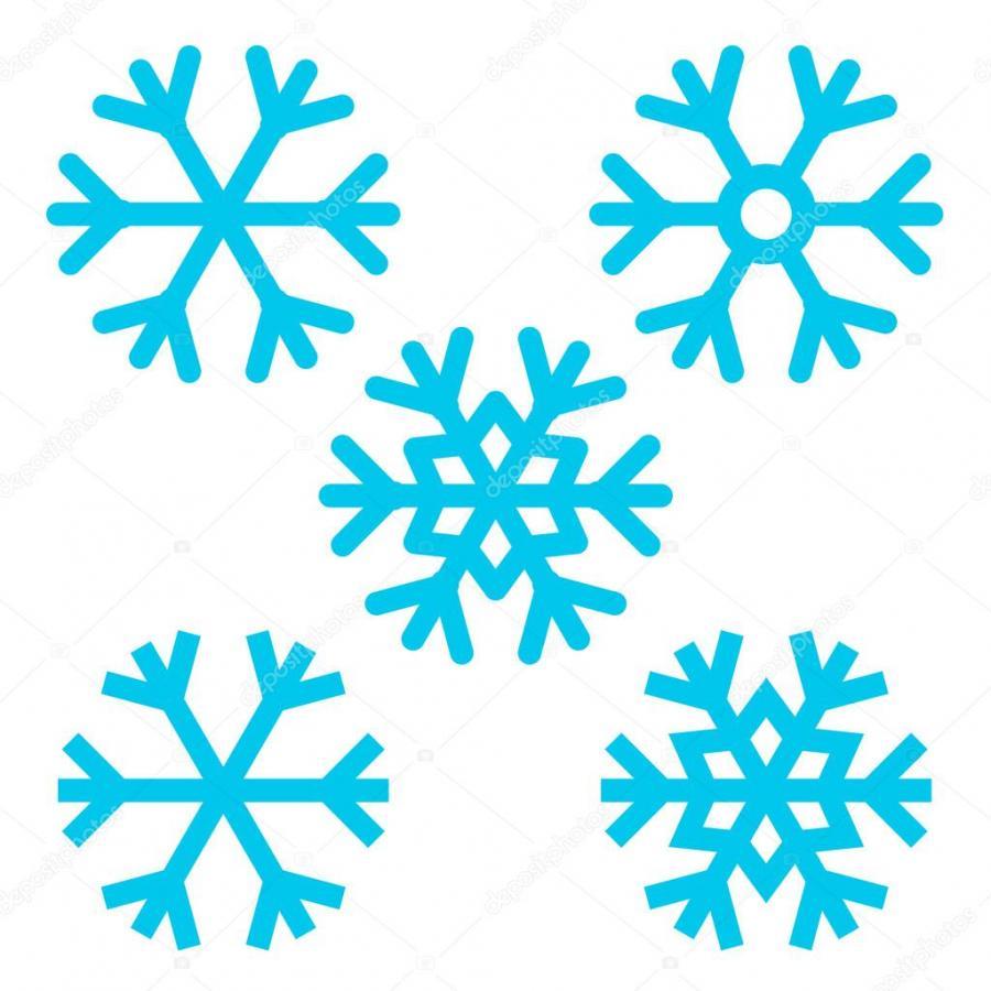 Рисунки снежинок для срисовки - фото 8