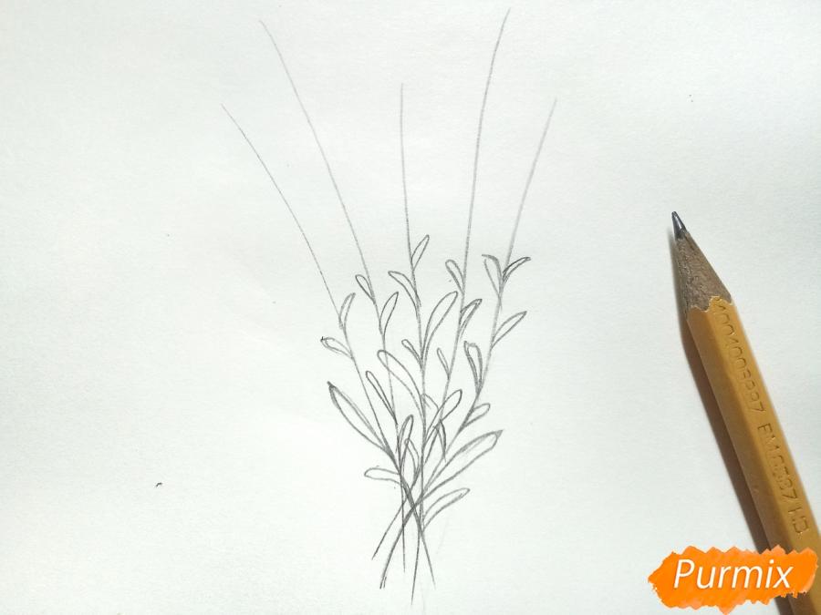 Букет люпинов - фото 2