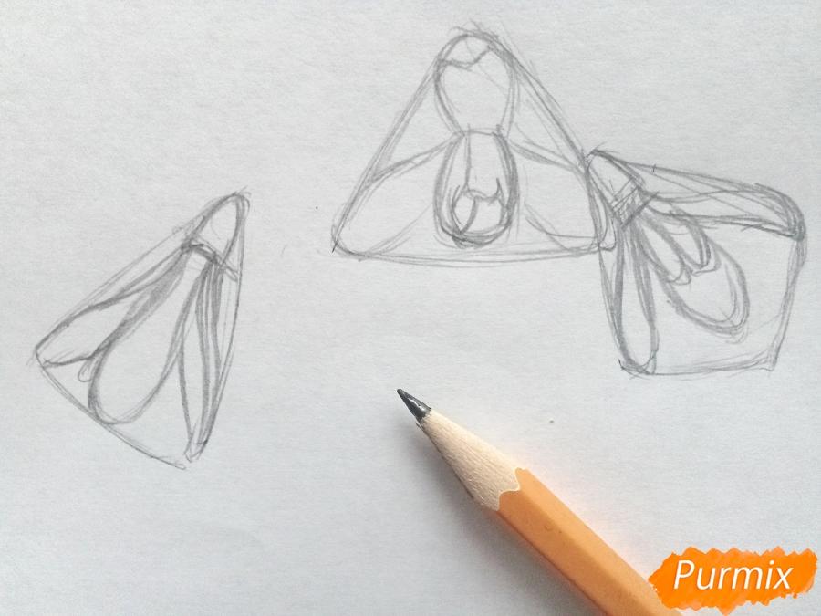 Рисуем букет подснежников цветными карандашами - фото 2