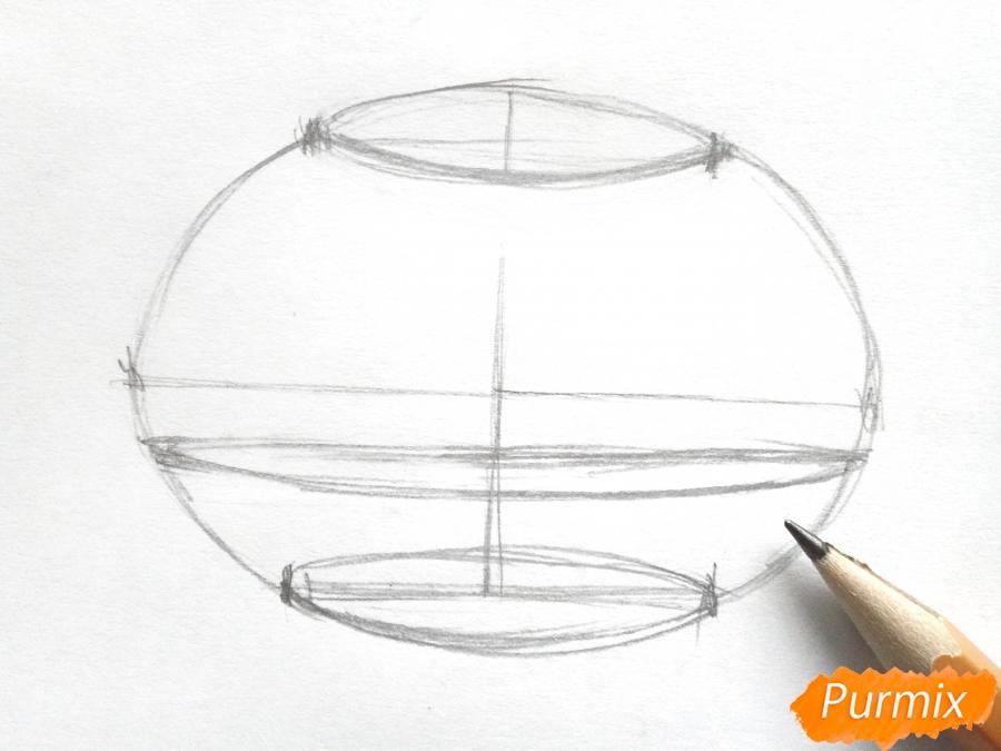 Рисуем букет подснежников в вазе карандашами - фото 2