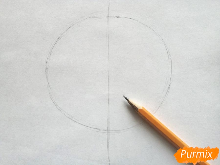 Рисуем кленовый лист цветными карандашами - фото 1