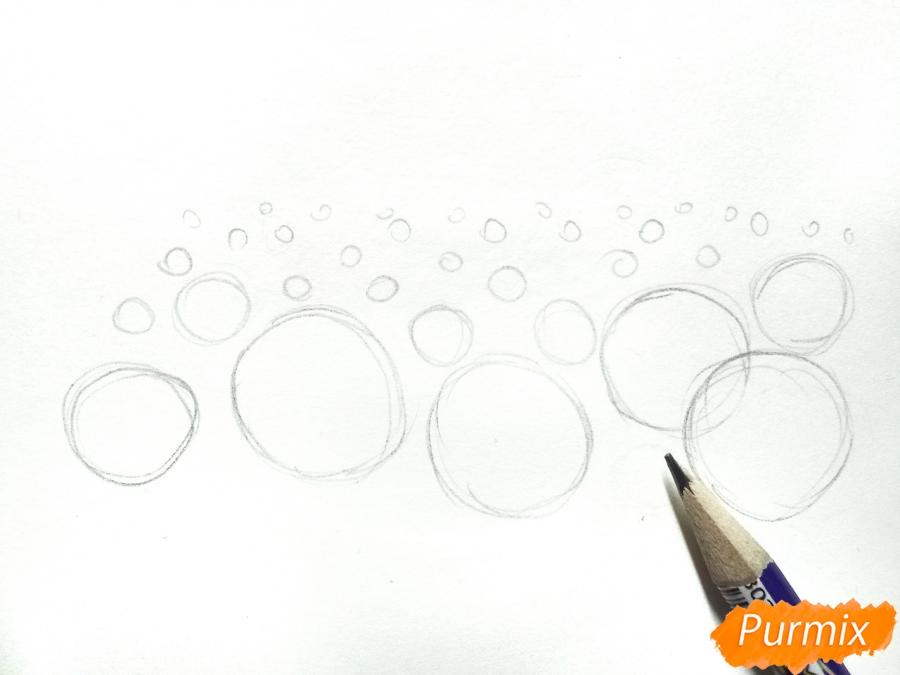 Рисуем поле подсолнухов - фото 1