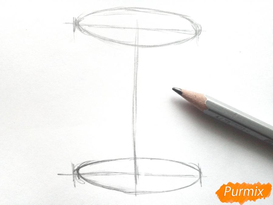 Рисуем вазу с осенними листьями - фото 1