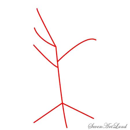 Рисуем мертвое дерево