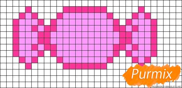 Рисуем конфету по клеточкам - шаг 1
