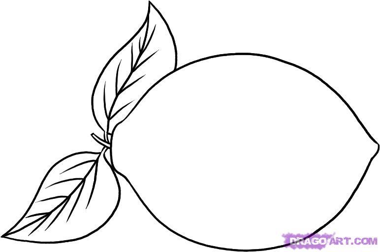 Рисуем лимон карандашами - фото 4