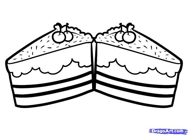 Как нарисовать Пирожные карандашом поэтапно
