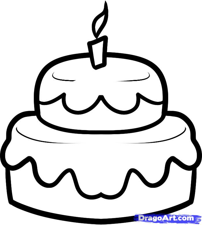 ... праздничный торт карандашом поэтапно: purmix.ru/lessons.php?k=887