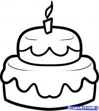 Фотография праздничный торт