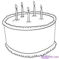 Фотография торт ко дню рождения