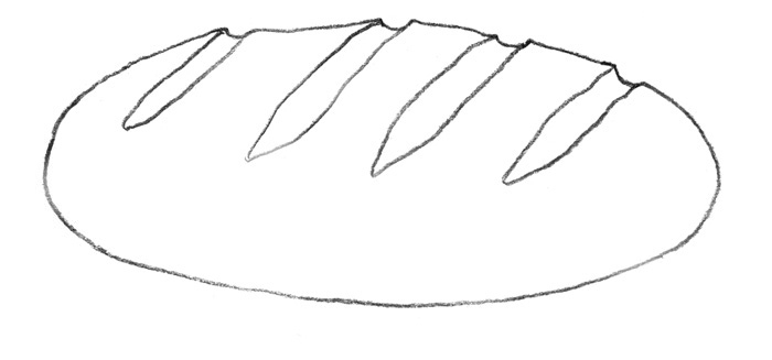 Рисуем Хлеб - фото 2