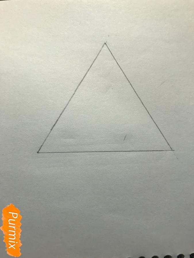 Рисуем нереальный треугольник - шаг 1