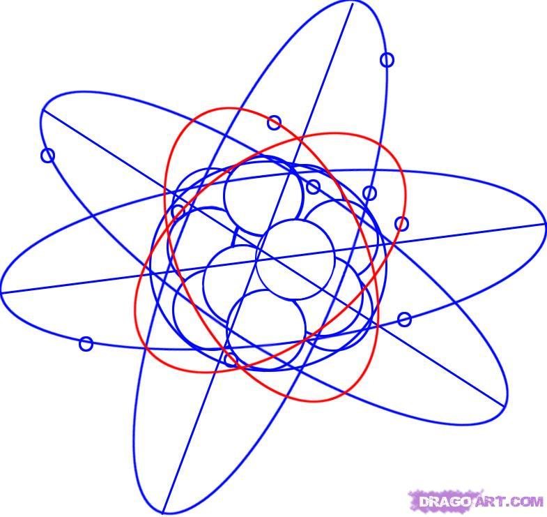 Рисуем Атом