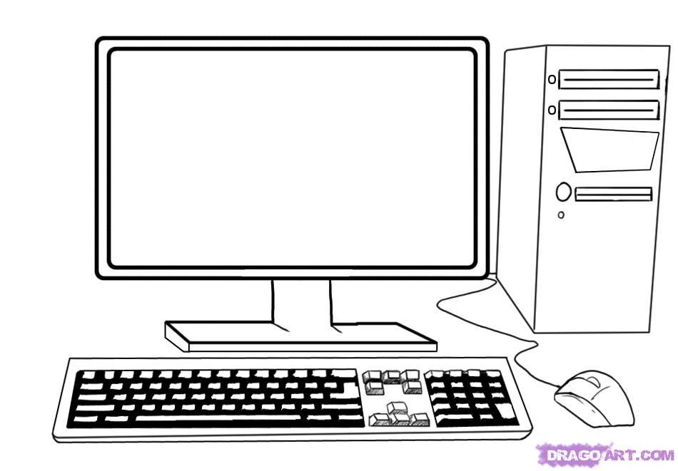 рисовать карандашом на компьютере: