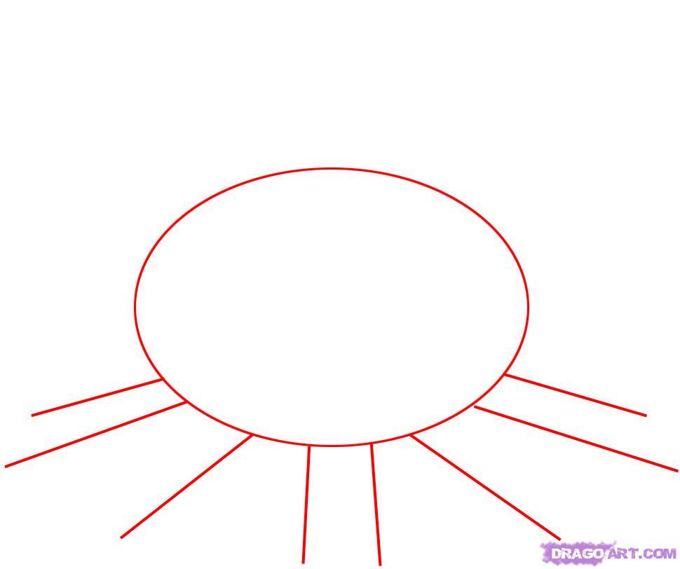 Как нарисовать Костёр карандашом поэтапно