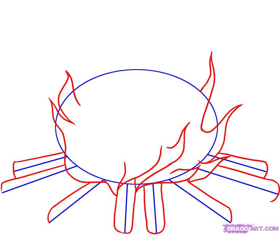 Как нарисовать пламя поэтапно
