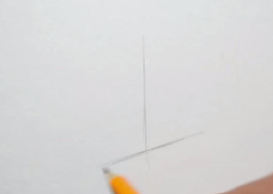 Рисуем куб  на бумаге