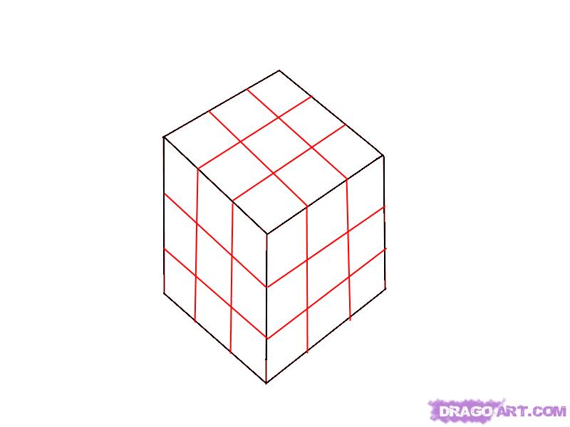 Рисуем Кубик Рубик