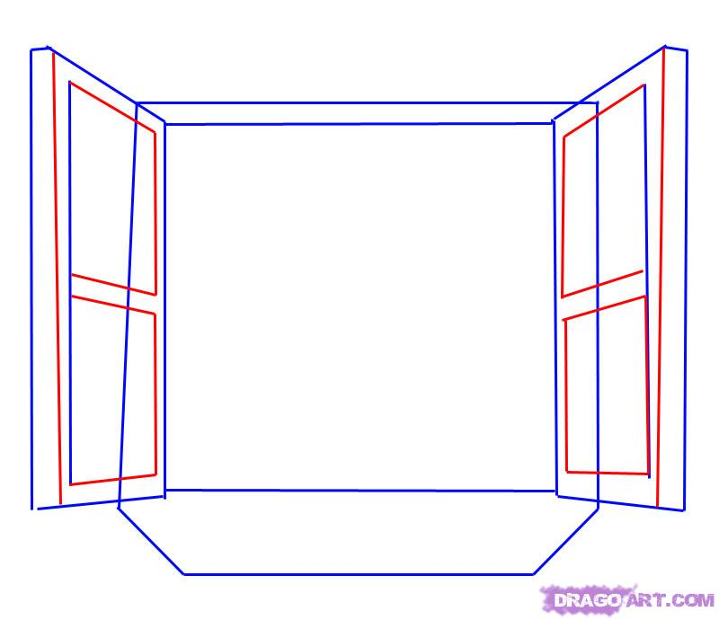 Рисуем открытое Окно
