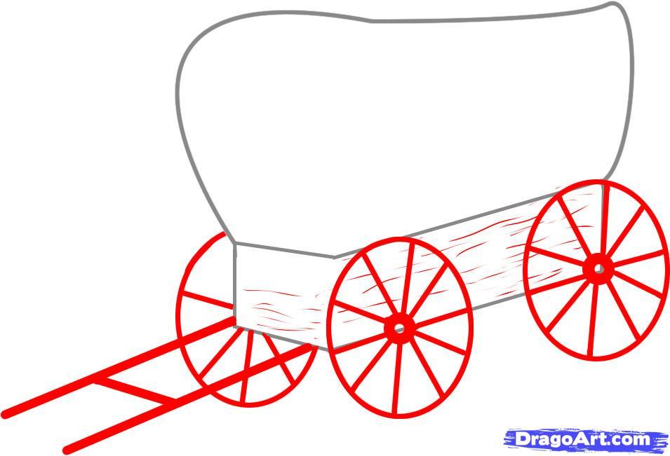 Рисуем Повозку