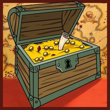 Пиратский сундук своими руками 35