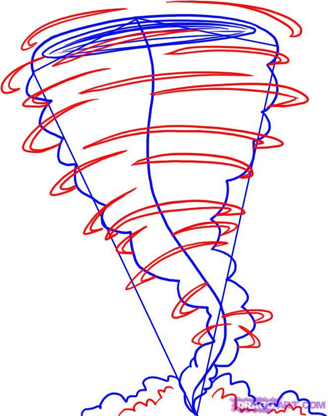 Рисуем Торнадо