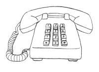 Учимся рисовать  Телефон